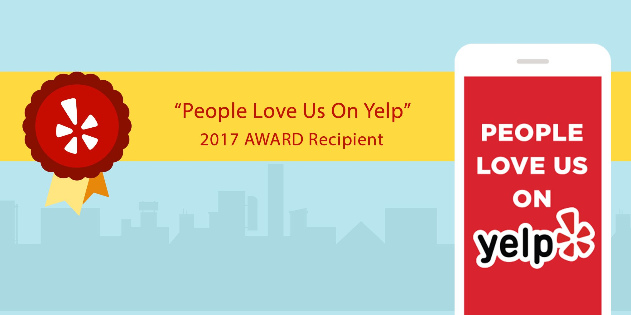 Yelp water damage restoration and mold remediation removal 2017 award