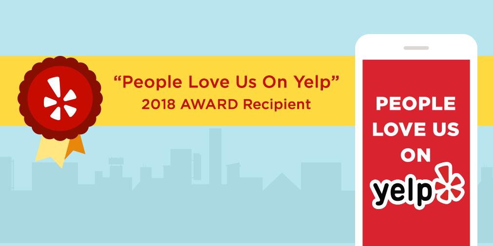 Yelp - Water Damage Restoration - Mold Removal 2019 Award